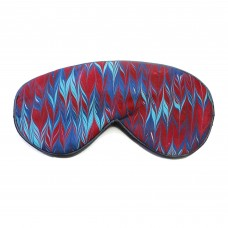 Oxblood lavender filled eye mask with elasticated band