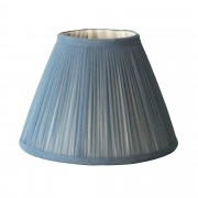 Slate Gathered Chiffon Lampshade