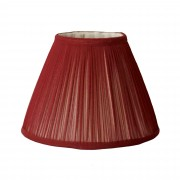 Marsala Gathered Chiffon Lampshade