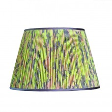 Salzburg Hand Marbled Empire Silk Lampshade